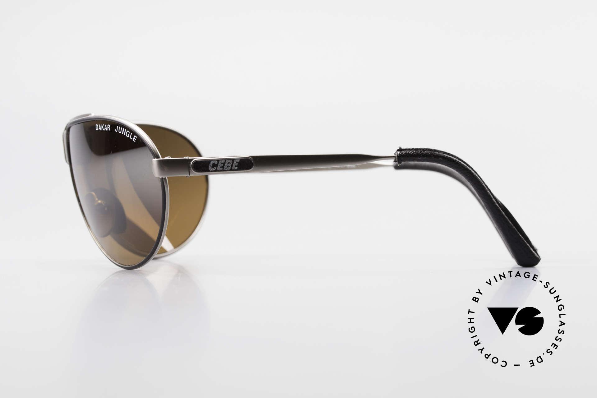 Cebe Dakar Jungle QD02 High-Tech Rennfahrer Brille, Spiegelgläser für extremste Sonneneinstrahlung, Passend für Herren und Damen