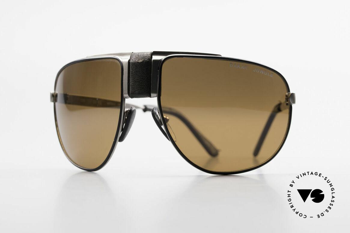 Cebe Dakar Jungle QD02 High-Tech Renn Sonnenbrille, vintage Cebe Sportbrille für den extremen Einsatz, Passend für Herren und Damen