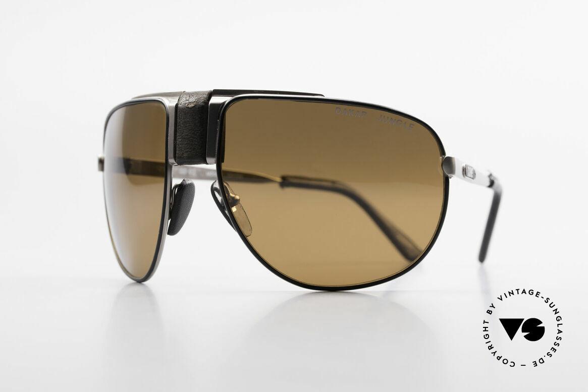 Cebe Dakar Jungle QD02 High-Tech Renn Sonnenbrille, ultra hart getestet durch die afrikanische Wüste, Passend für Herren und Damen