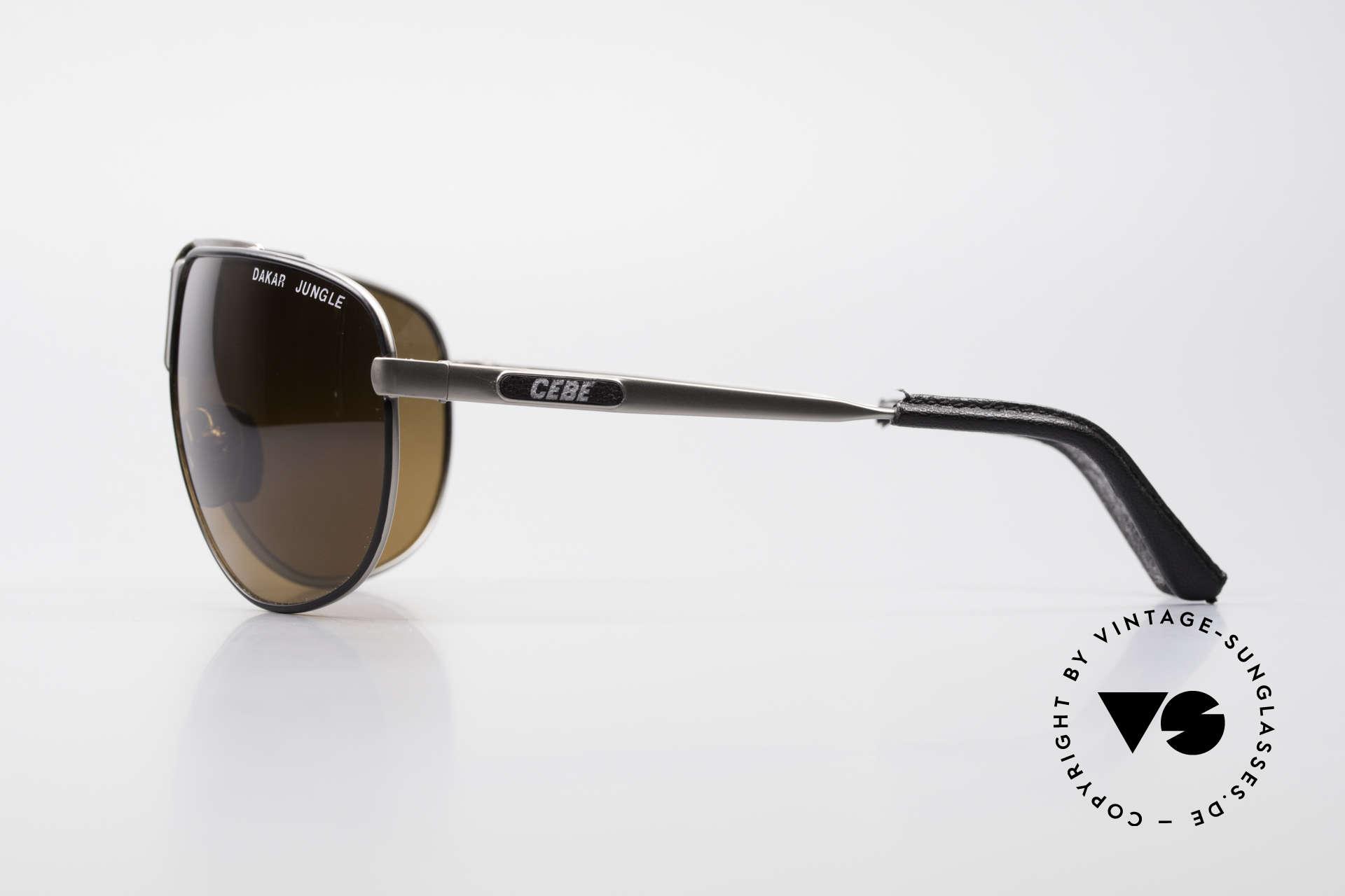 Cebe Dakar Jungle QD02 High-Tech Renn Sonnenbrille, Spiegelgläser für extremste Sonneneinstrahlung, Passend für Herren und Damen