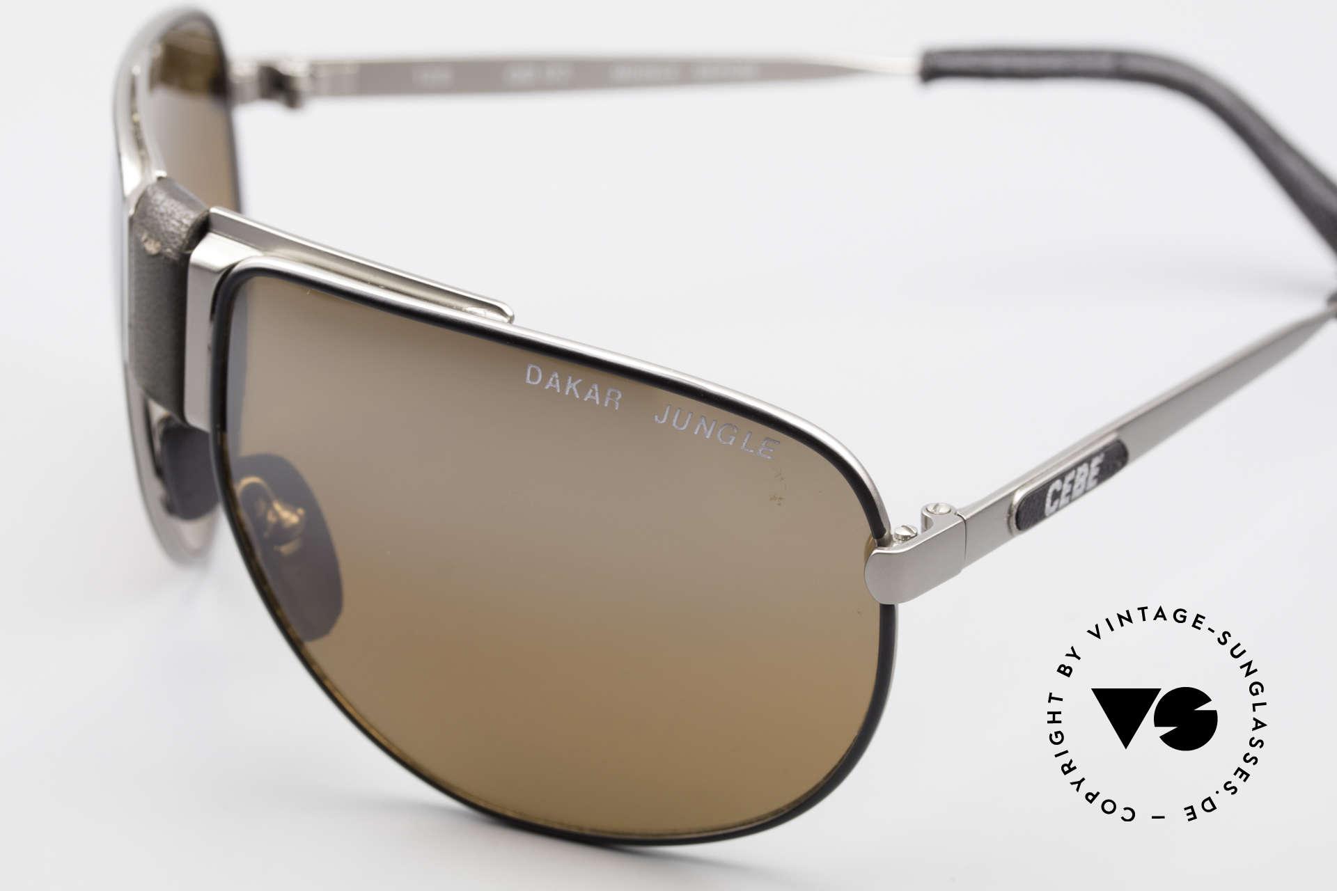 Cebe Dakar Jungle QD02 High-Tech Renn Sonnenbrille, flexible Rahmenkonstruktion für ideale Passform, Passend für Herren und Damen