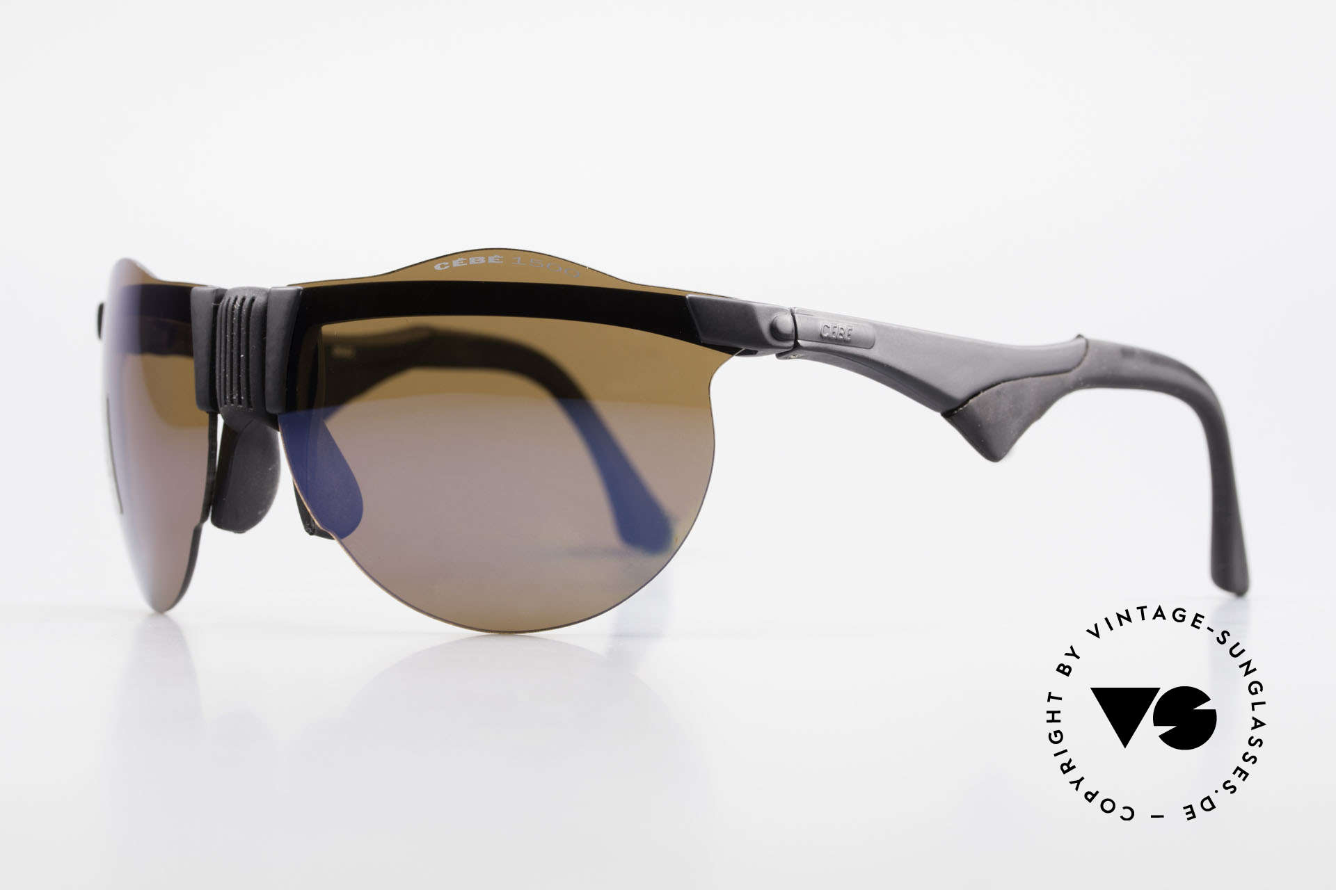 Cebe 1943 Alte Rennfahrer Sonnenbrille, ultra hart getestet durch die afrikanische Wüste, Passend für Herren und Damen