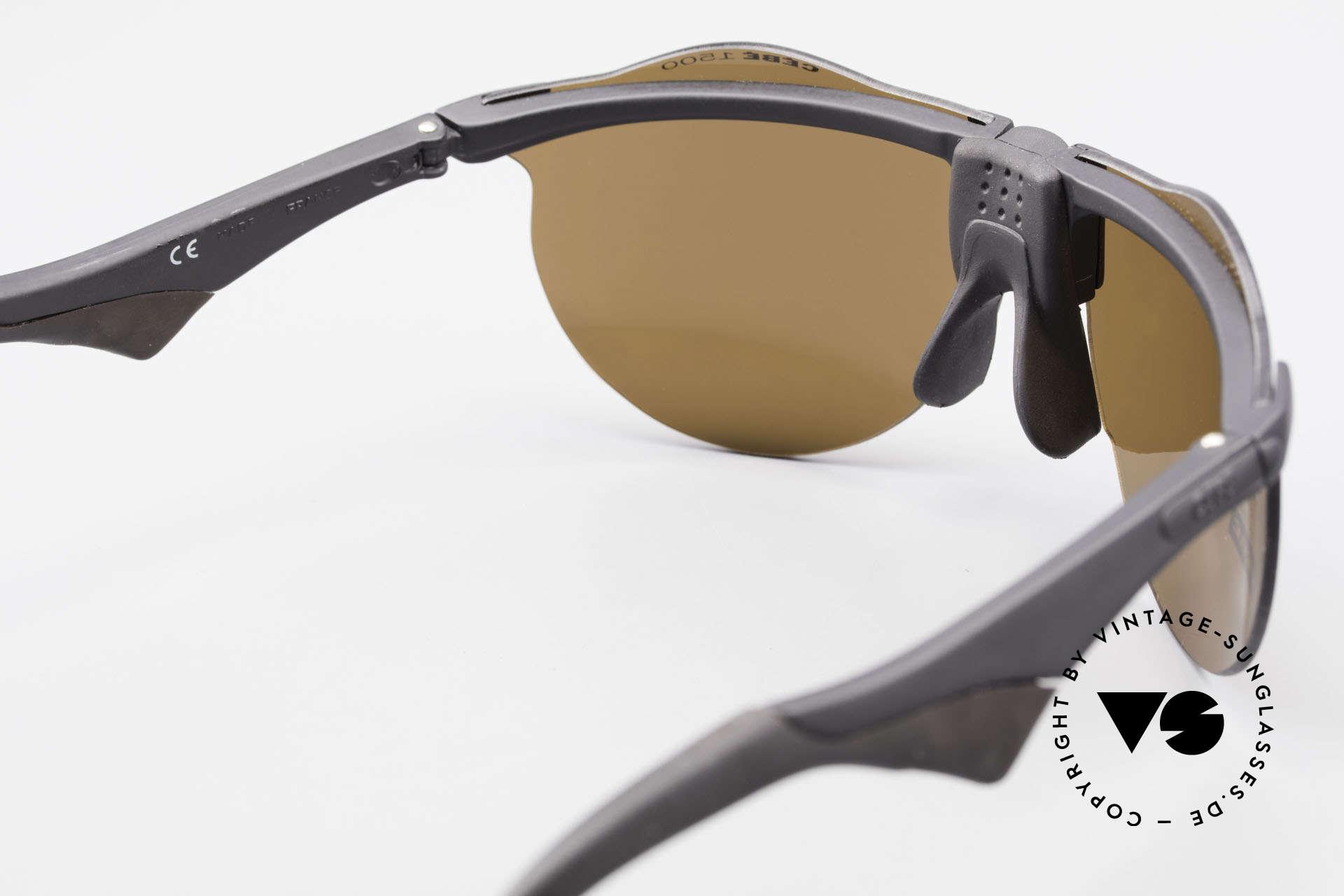 Cebe 1943 Alte Rennfahrer Sonnenbrille, KEINE Retrobrille, sondern ein 25 J. altes ORIGINAL!, Passend für Herren und Damen