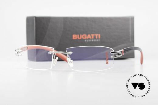 Bugatti 464 Randlose Fassung Ruthenium