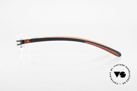Bugatti 466 Randlose Luxusbrille Carbon