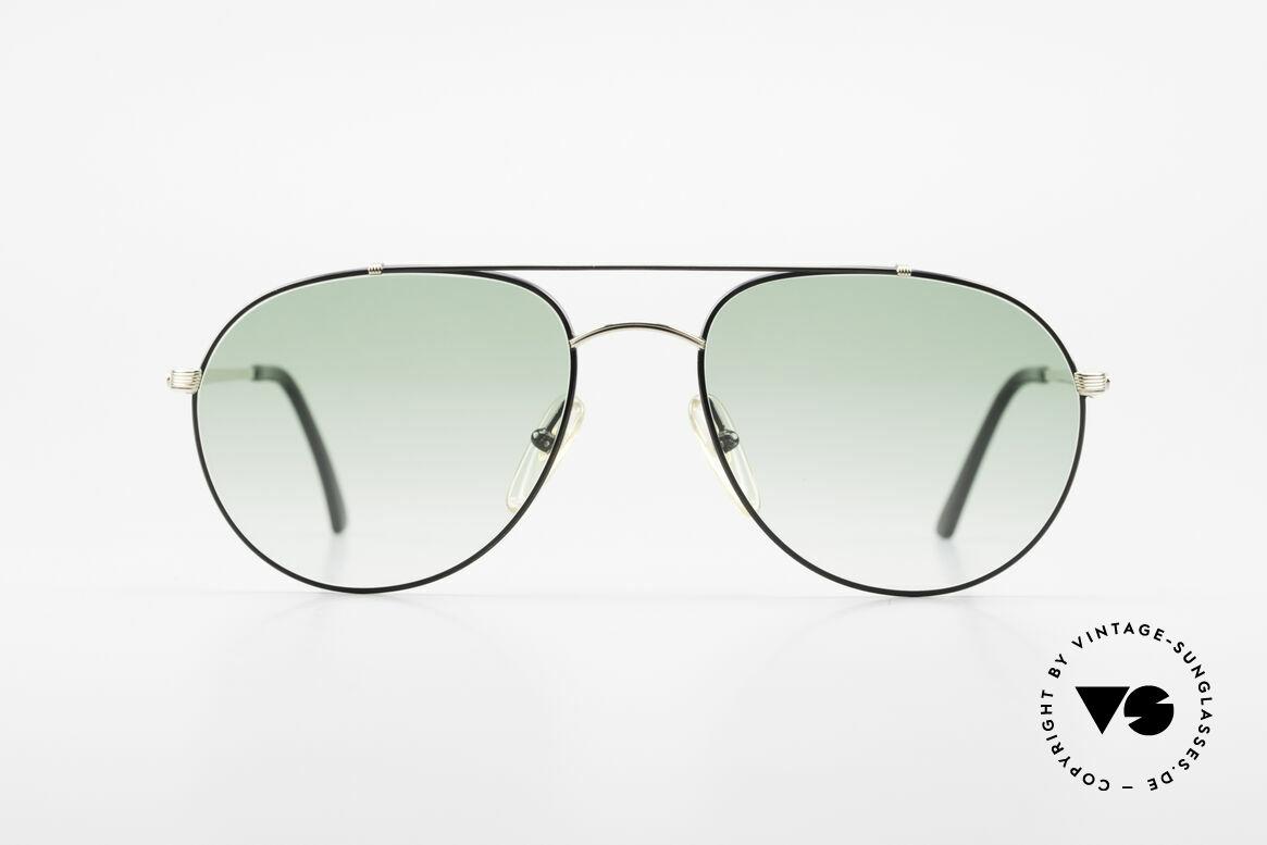 Christian Dior 2488 Alte 80er Pilotensonnenbrille, TOP-Qualität (Brücke und Bügel sind vergoldet), Passend für Herren