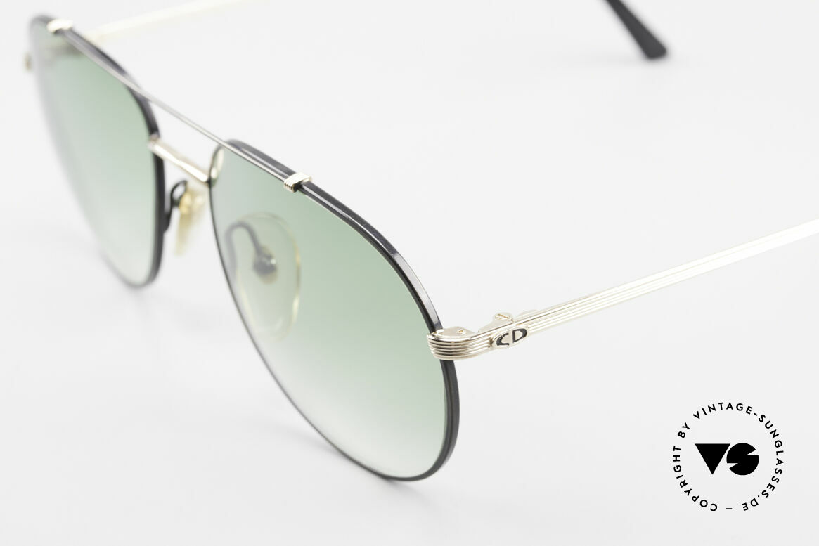 Christian Dior 2488 Alte 80er Pilotensonnenbrille, ungetragen (wie alle unsere vintage Dior Brillen), Passend für Herren