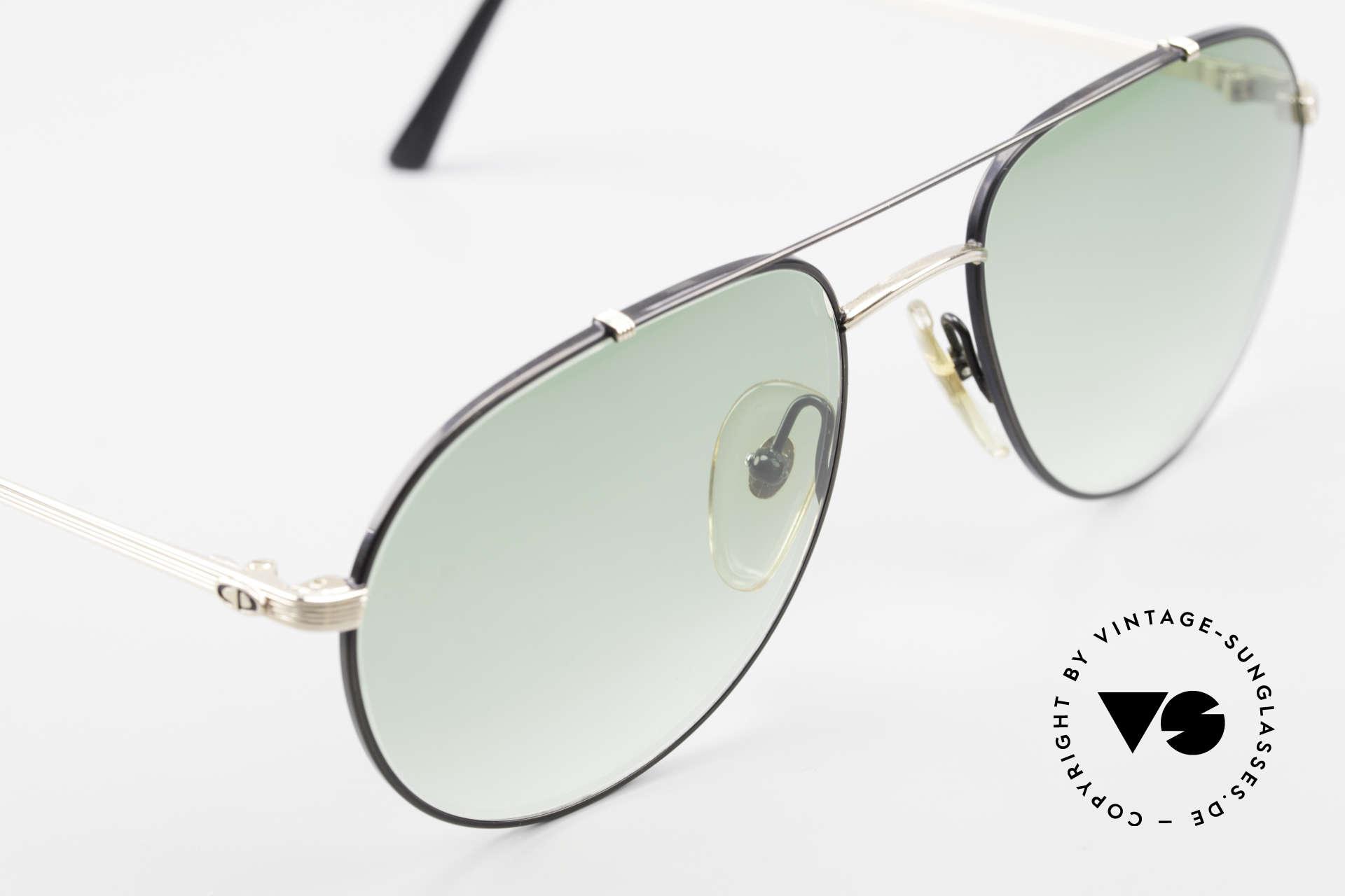 Christian Dior 2488 Alte 80er Pilotensonnenbrille, KEINE Retrobrille, sondern ein Original von 1987, Passend für Herren
