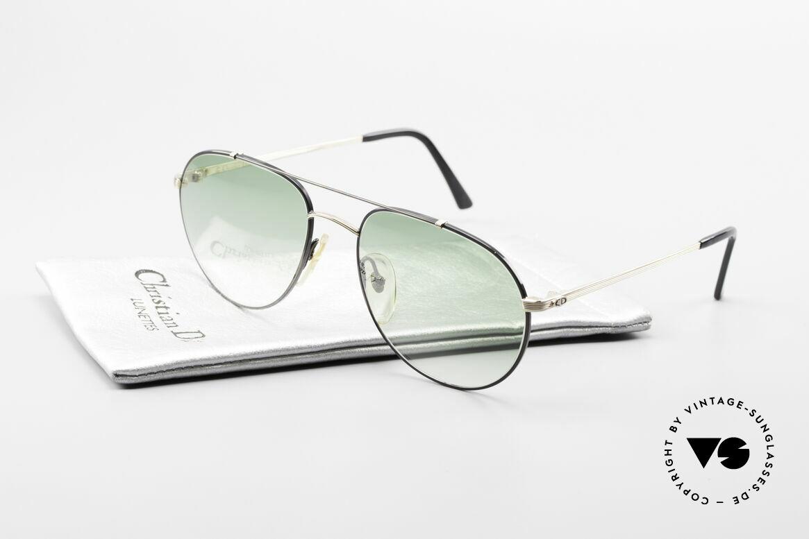 Christian Dior 2488 Alte 80er Pilotensonnenbrille, Größe: large, Passend für Herren