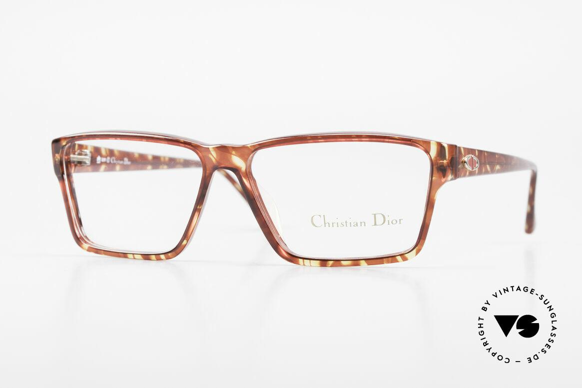 Christian Dior 2628 Alte 80er Optyl Fassung Unisex, markantes DIOR Brillengestell von 1989, Unisex, Passend für Herren und Damen