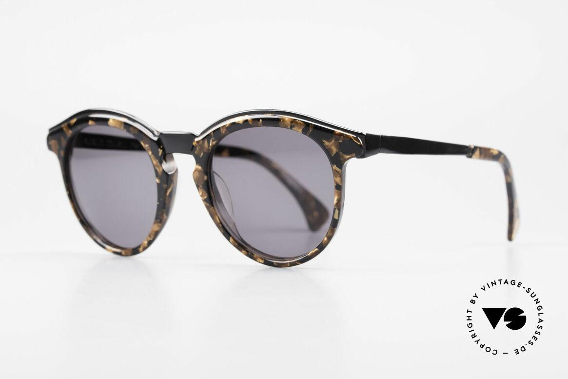 Alain Mikli 626 / 514 Alte 80er Panto Sonnenbrille, Pantoform in Metall- u. Kunststoff-Kombination, Passend für Herren und Damen