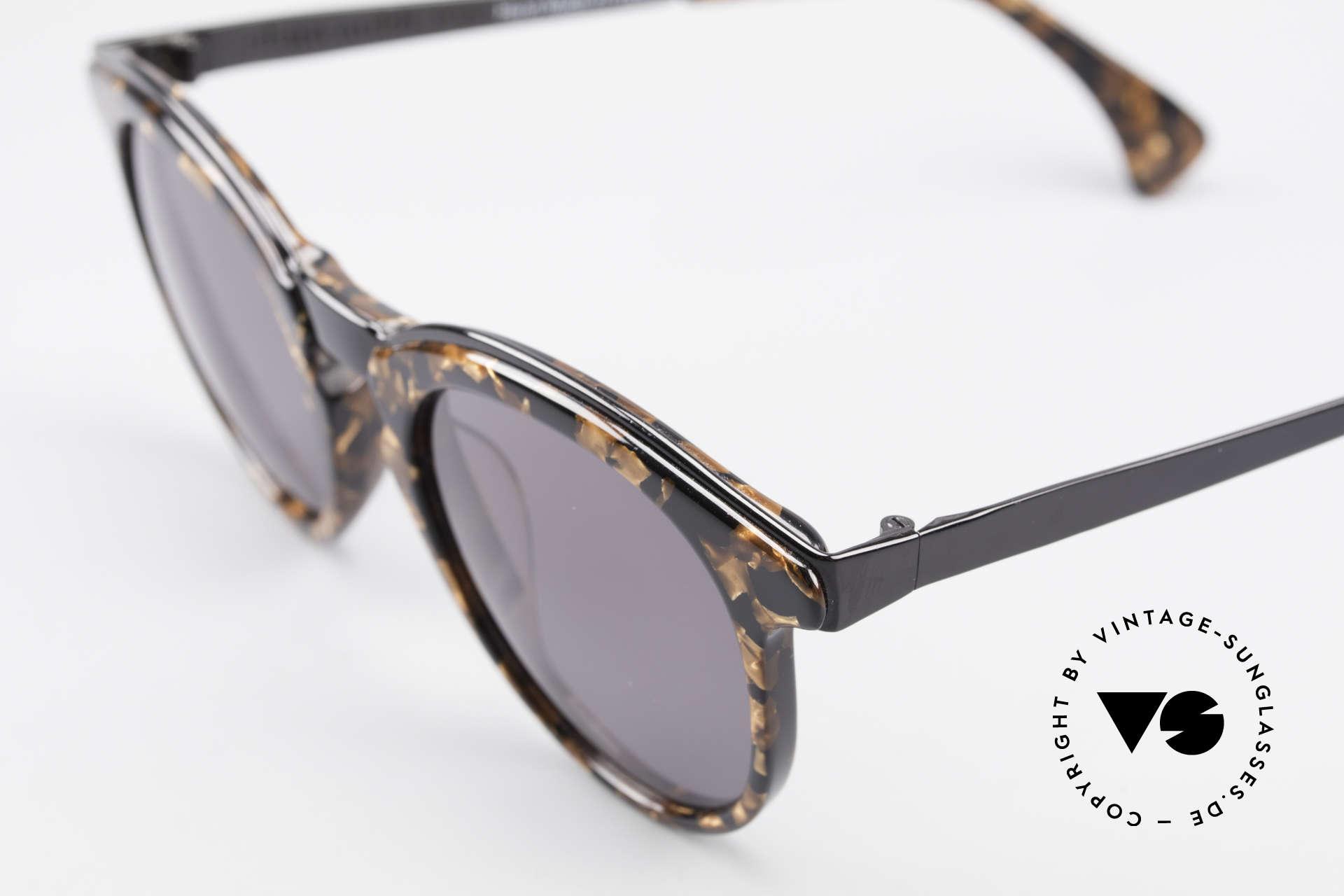 Alain Mikli 626 / 514 Alte 80er Panto Sonnenbrille, Top-Qualität & einzigartige Rahmen-Kolorierung, Passend für Herren und Damen
