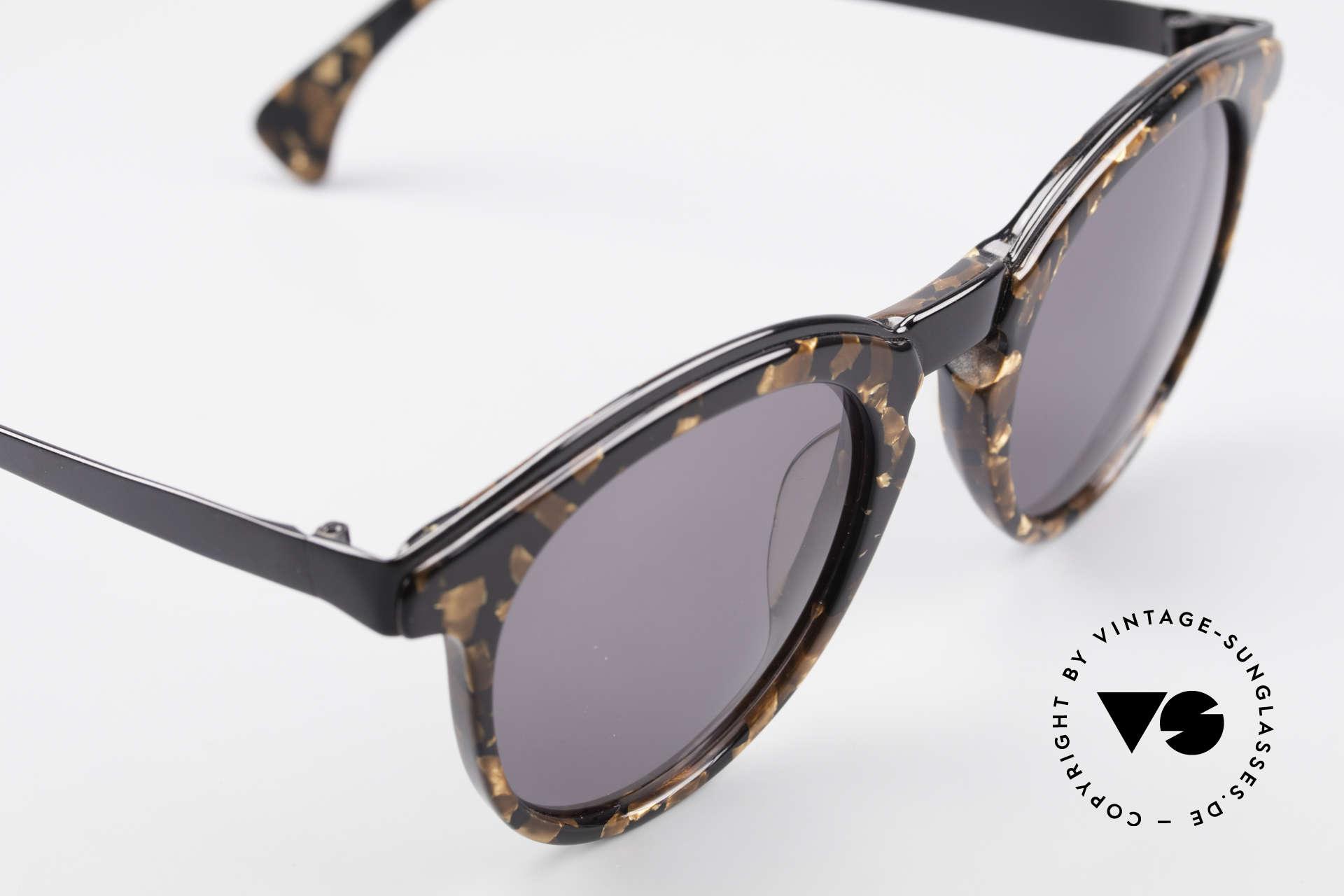 Alain Mikli 626 / 514 Alte 80er Panto Sonnenbrille, ungetragen (wie alle unsere vintage Mikli Brillen), Passend für Herren und Damen