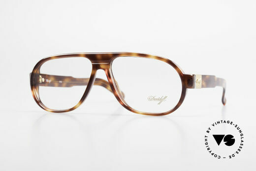 Davidoff 100 90er Herren Vintage Brille Details