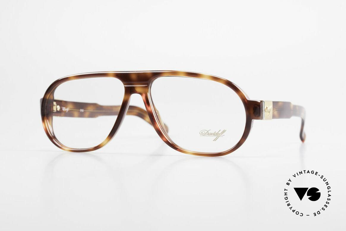 Davidoff 100 90er Herren Vintage Brille, seltene, sowie äußerst elegante Brille von Davidoff, Passend für Herren