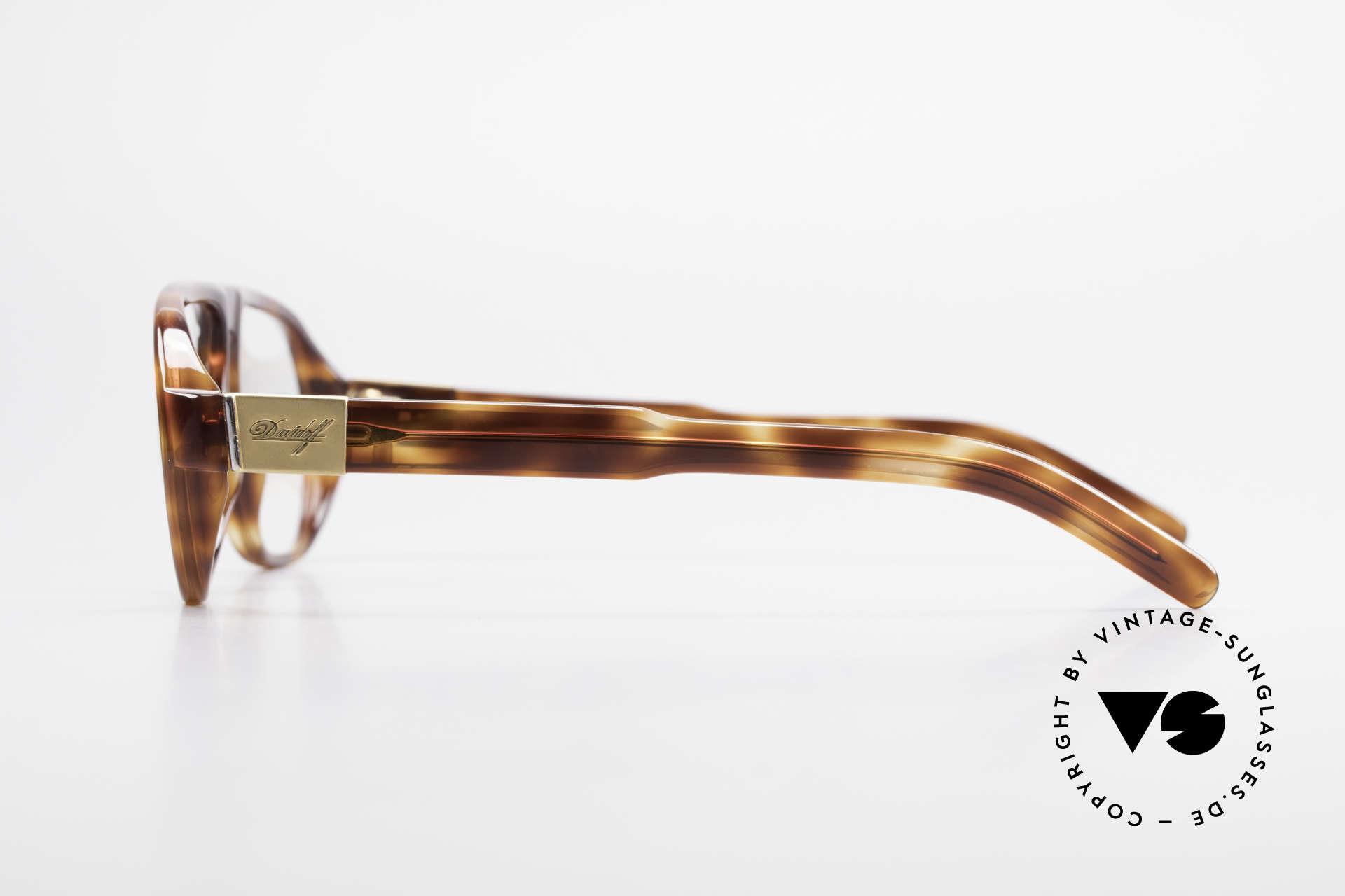 Davidoff 100 90er Herren Vintage Brille, ein Modell für Mode-Liebhaber; stilvoll und elegant, Passend für Herren