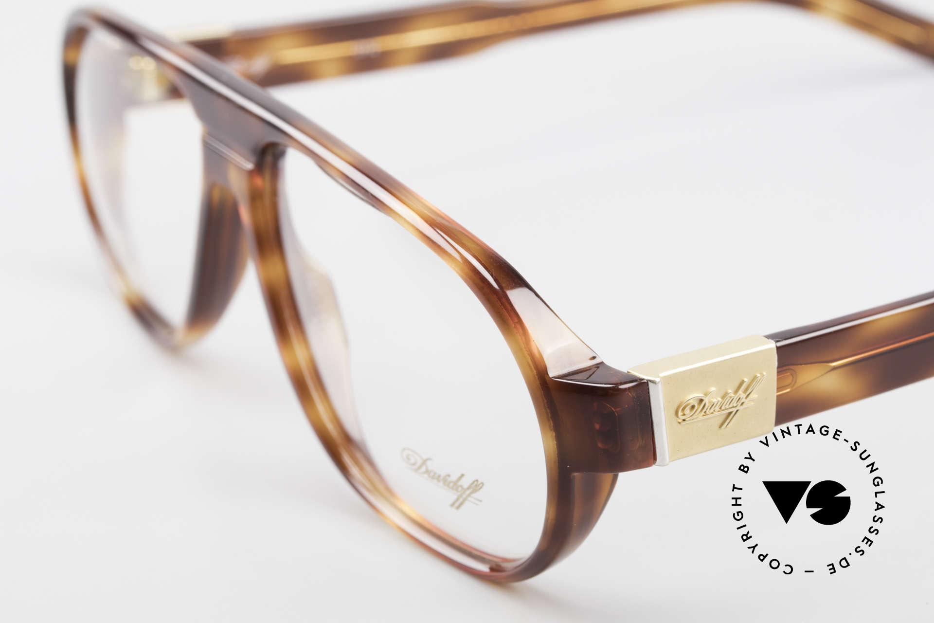 Davidoff 100 90er Herren Vintage Brille, ungetragen (wie alle unsere Davidoff vintage Brillen), Passend für Herren