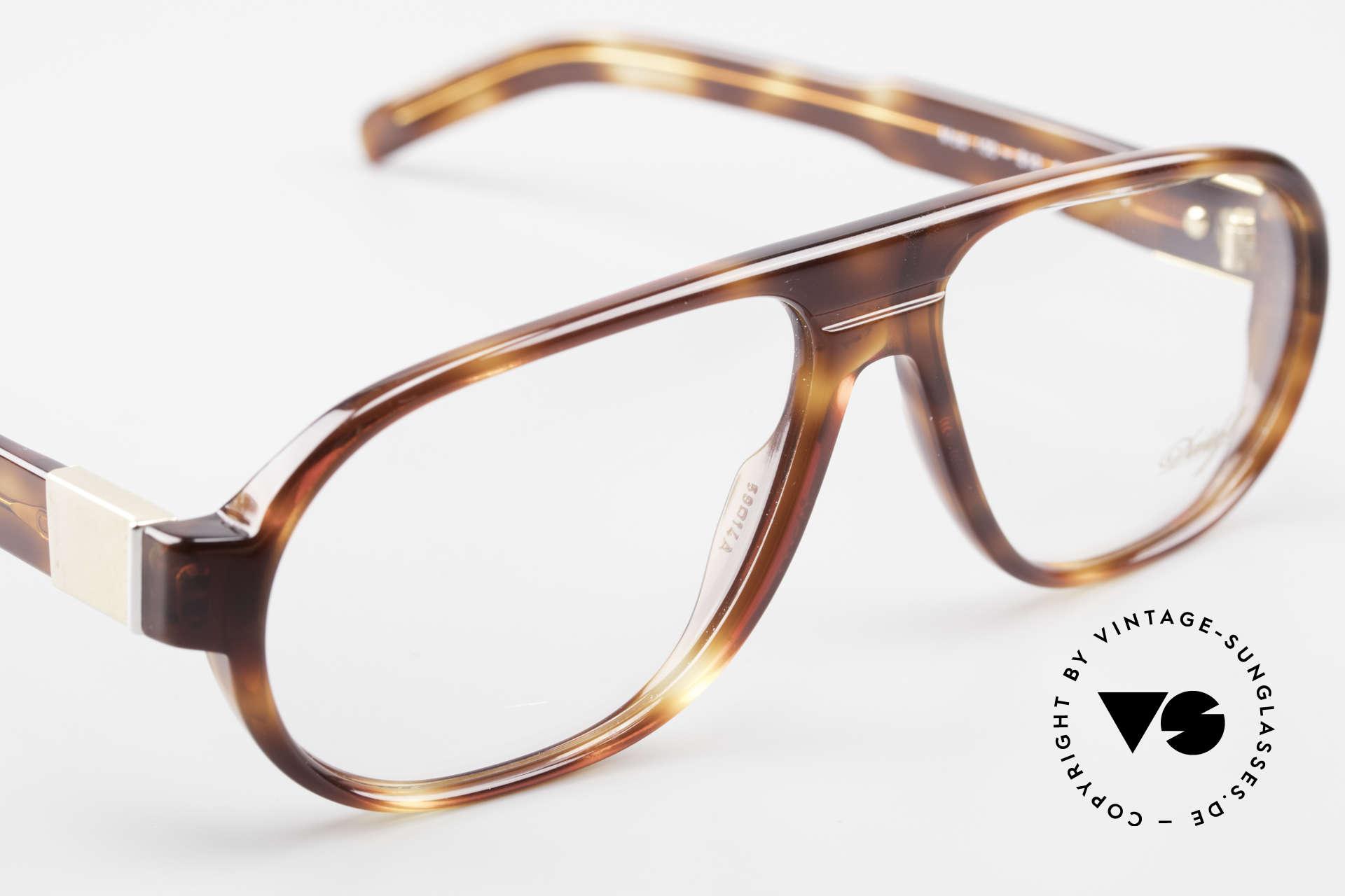 Davidoff 100 90er Herren Vintage Brille, die Demogläser können durch optische ersetzt werden, Passend für Herren