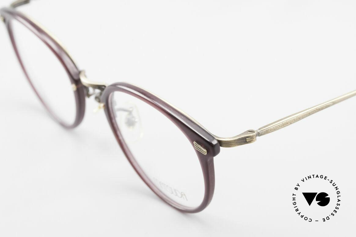 Matsuda 2836 Panto Stil 90er Luxus Brille, ungetragenes EINZELSTÜCK für alle Qualitäts-Liebhaber, Passend für Herren und Damen