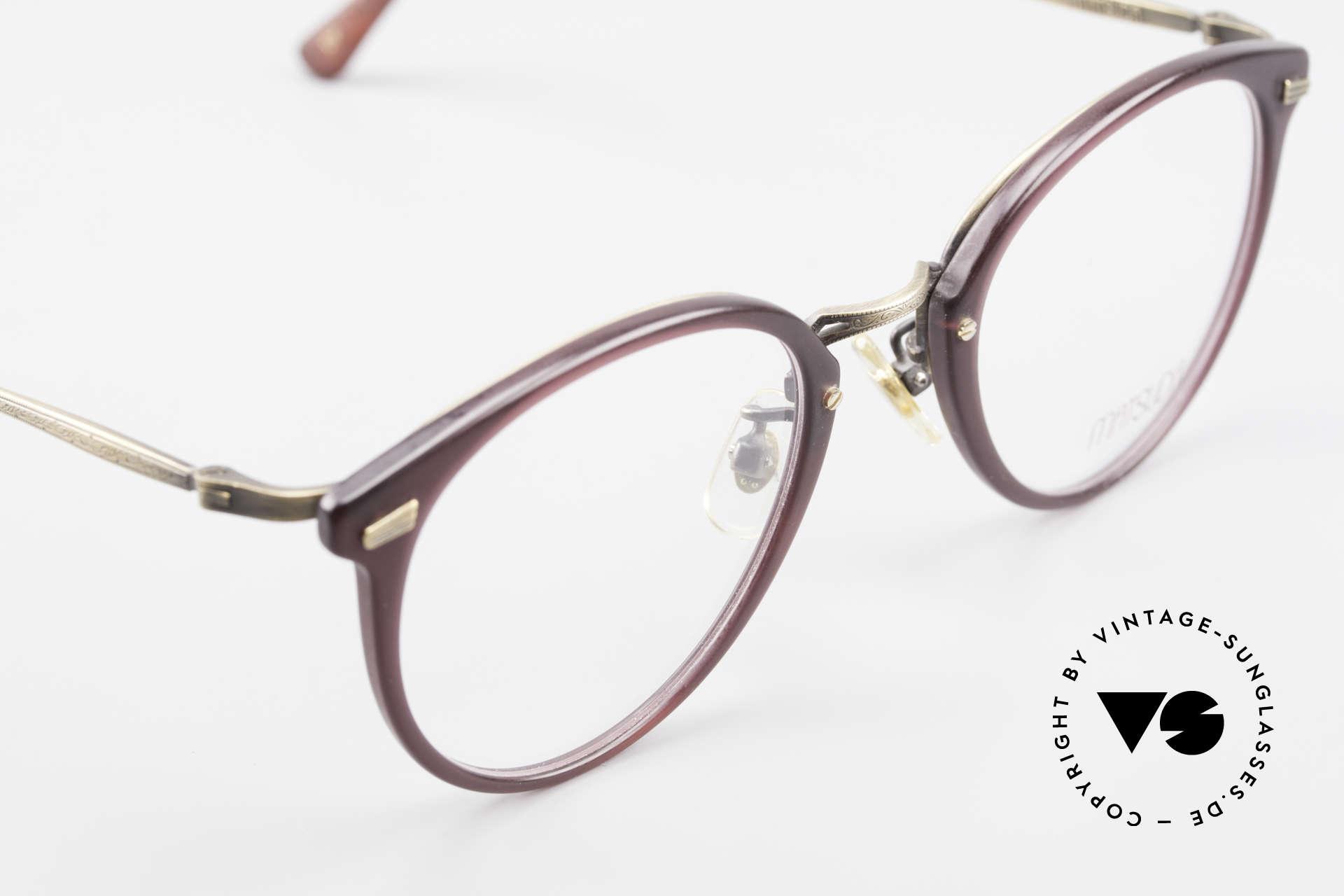 Matsuda 2836 Panto Stil 90er Luxus Brille, KEINE Retromode, sondern ein 25 Jahre altes ORIGINAL!, Passend für Herren und Damen