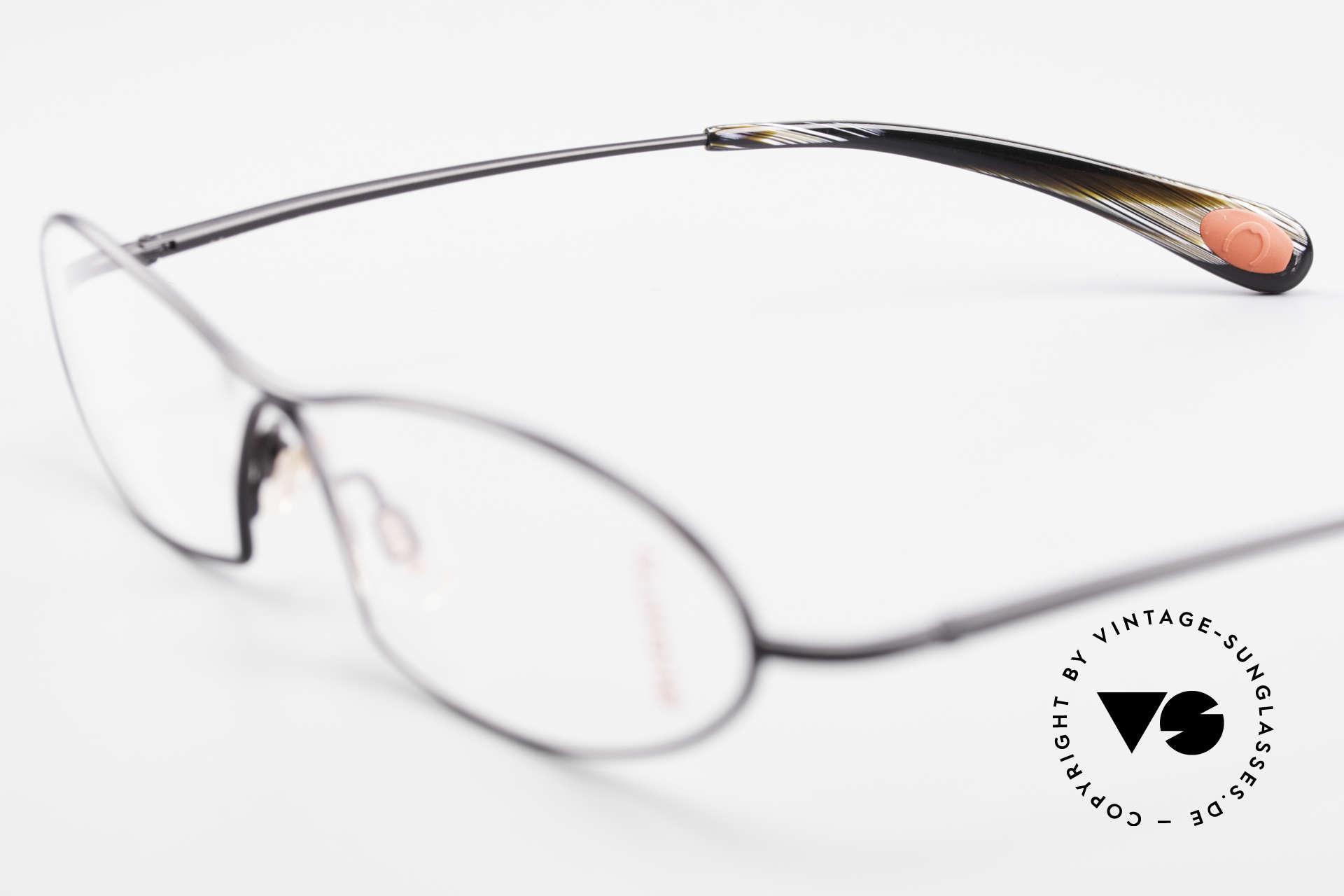 Bugatti 343 Odotype Vintage Designer Brille Herren, Modell als Brille oder Sonnenbrille verglasbar, Passend für Herren
