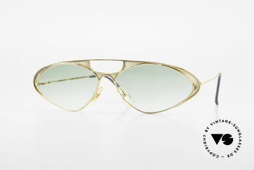 Casanova LC8 Luxusbrille Mit Murano Glas Details
