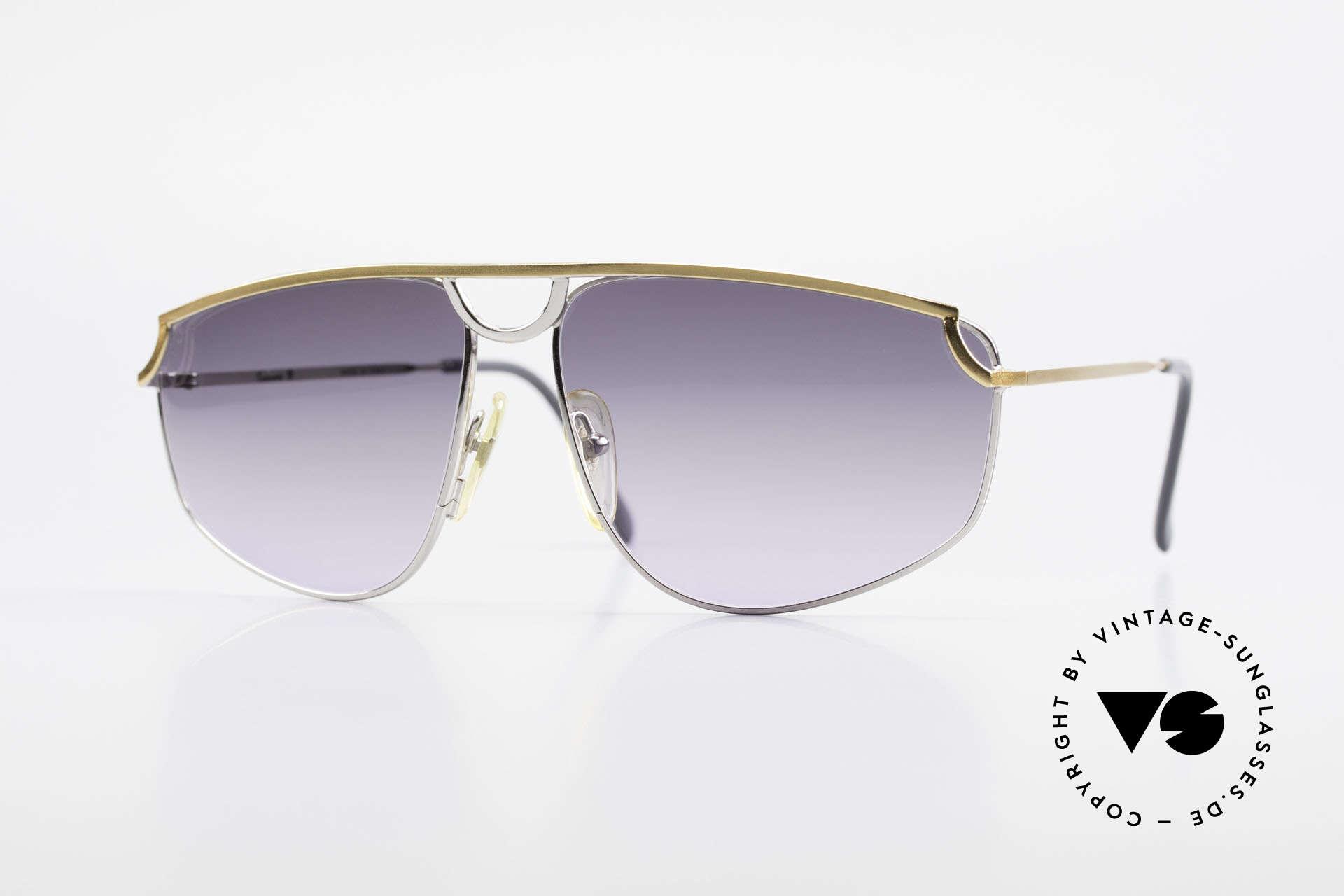 Casanova DSC9 Aviator Style Sonnenbrille, seltene 80er CASANOVA Sonnenbrille im Aviator-Stil, Passend für Herren und Damen