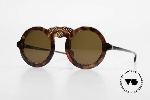 Laura Biagiotti V93 Shangai True Vintage Sonnenbrille 70er Details