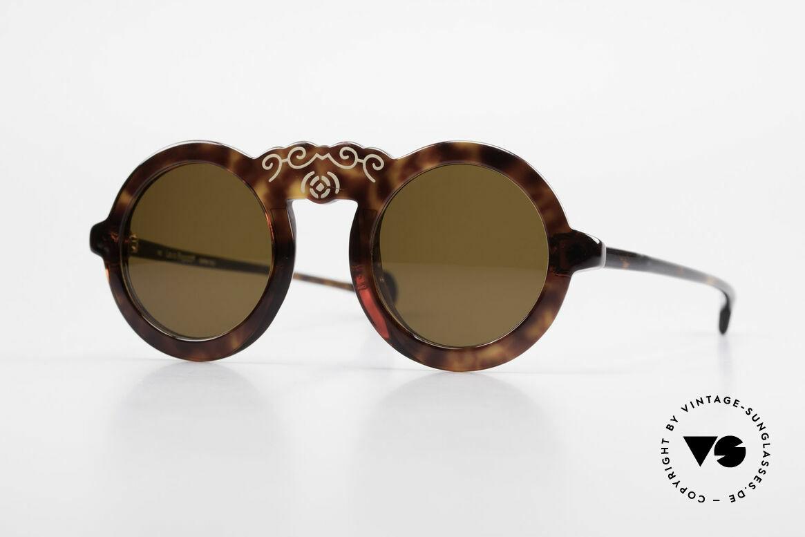 Laura Biagiotti V93 Shangai True Vintage Sonnenbrille 70er, entzückende vintage Damenbrille von Laura Biagiotti, Passend für Damen