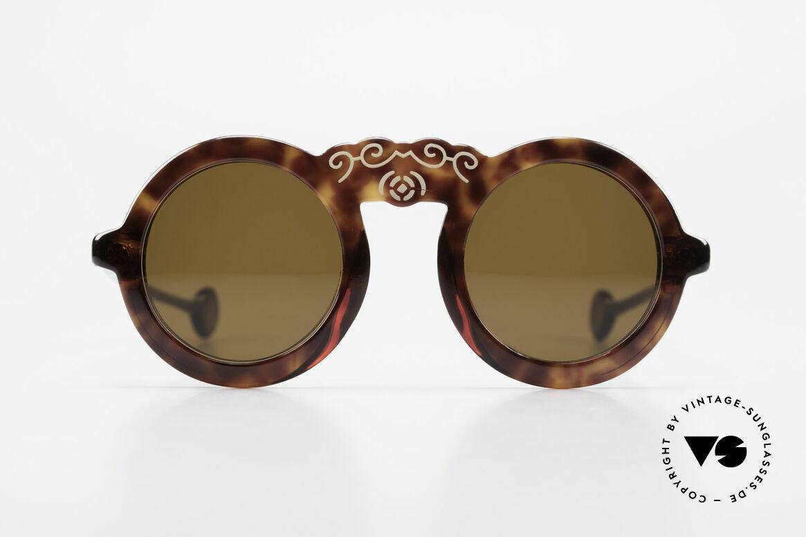 Laura Biagiotti V93 Shangai True Vintage Sonnenbrille 70er, ein reizendes Designerstück der 70er; made in Italy, Passend für Damen