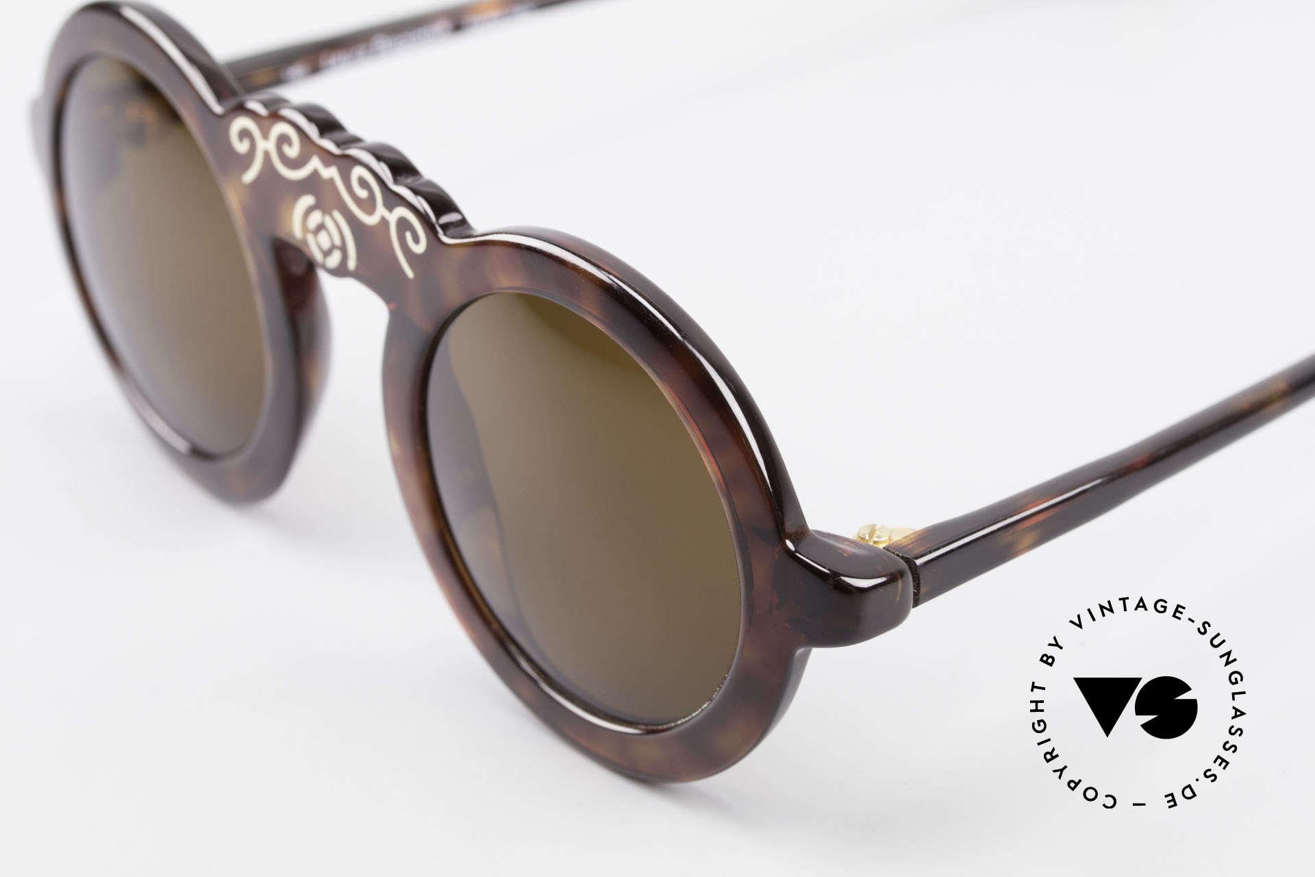 Laura Biagiotti V93 Shangai True Vintage Sonnenbrille 70er, ungetragenes Einzelstück (wie alle unsere Raritäten), Passend für Damen