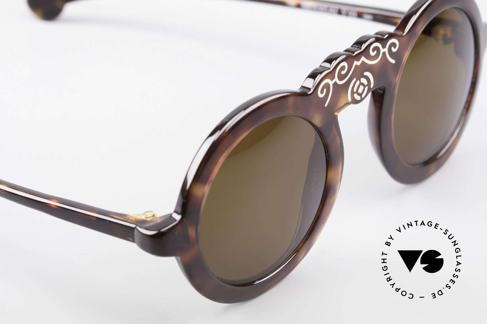 Laura Biagiotti V93 Shangai True Vintage Sonnenbrille 70er, KEINE Retromode, sondern ein 40 Jahre altes Unikat, Passend für Damen