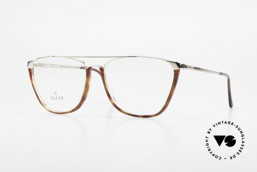 Gucci 1308 90er Designer Brillenfassung Details