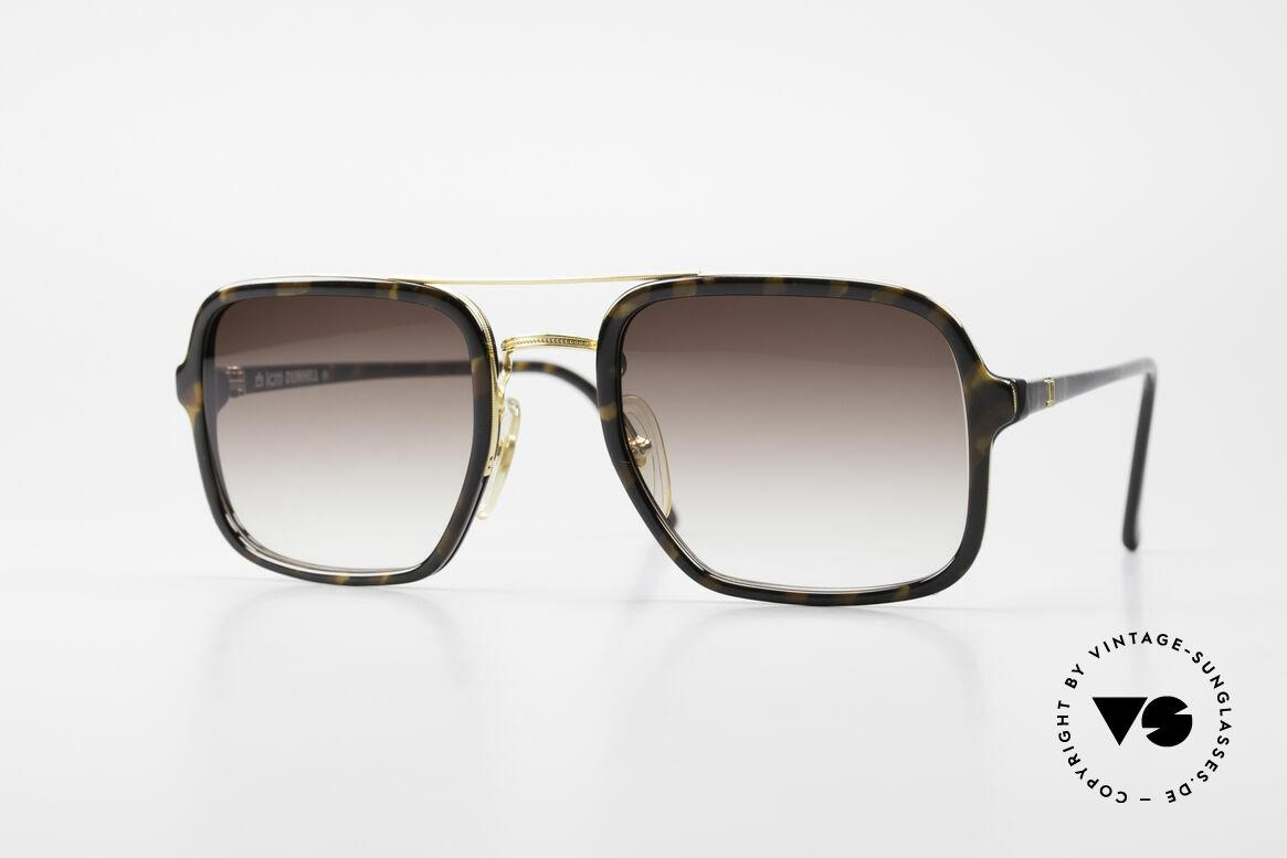 Dunhill 6059 Rare 80er Herren Sonnenbrille, sehr markante Dunhill vintage Sonnenbrille von 1986, Passend für Herren