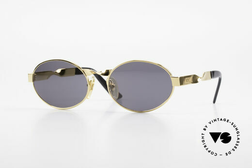 Moschino M29 Eingedrehte Sonnenbrille Oval Details