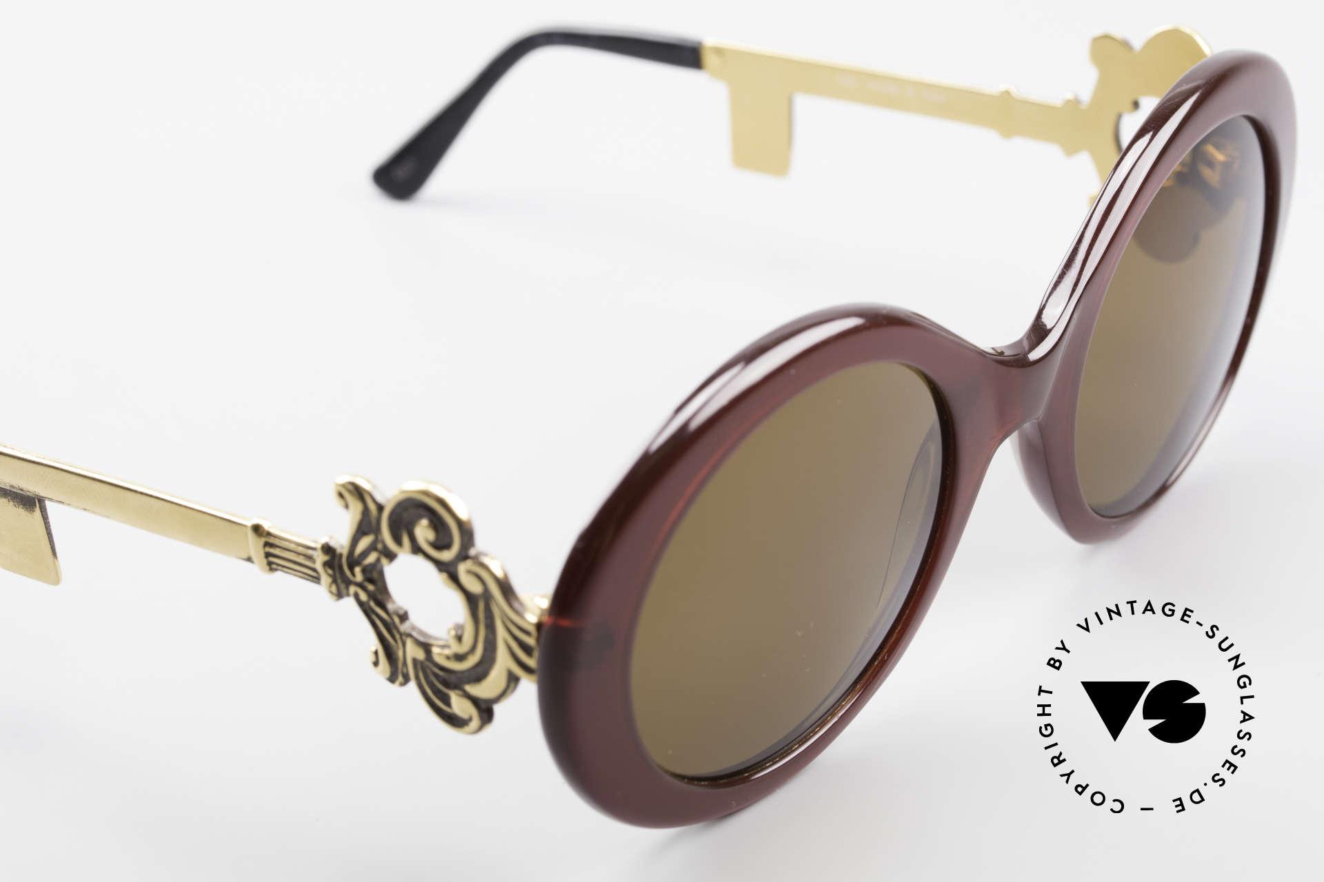 Moschino M254 Schüssel Sonnenbrille Antik, KEINE RETROBRILLE; ein grandioses altes Original, Passend für Damen
