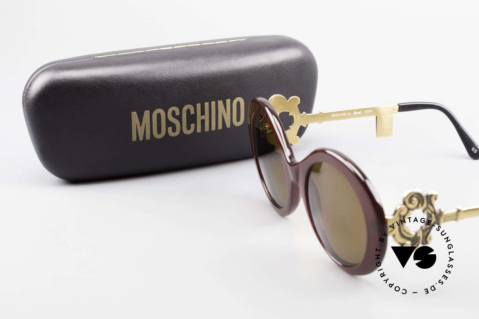 Moschino M254 Schüssel Sonnenbrille Antik, Größe: medium, Passend für Damen