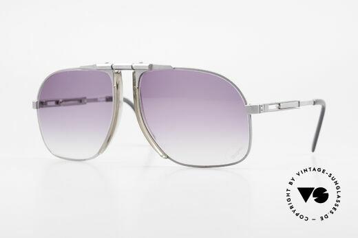Willy Bogner 7023 Einstellbare Sonnenbrille 80er Details