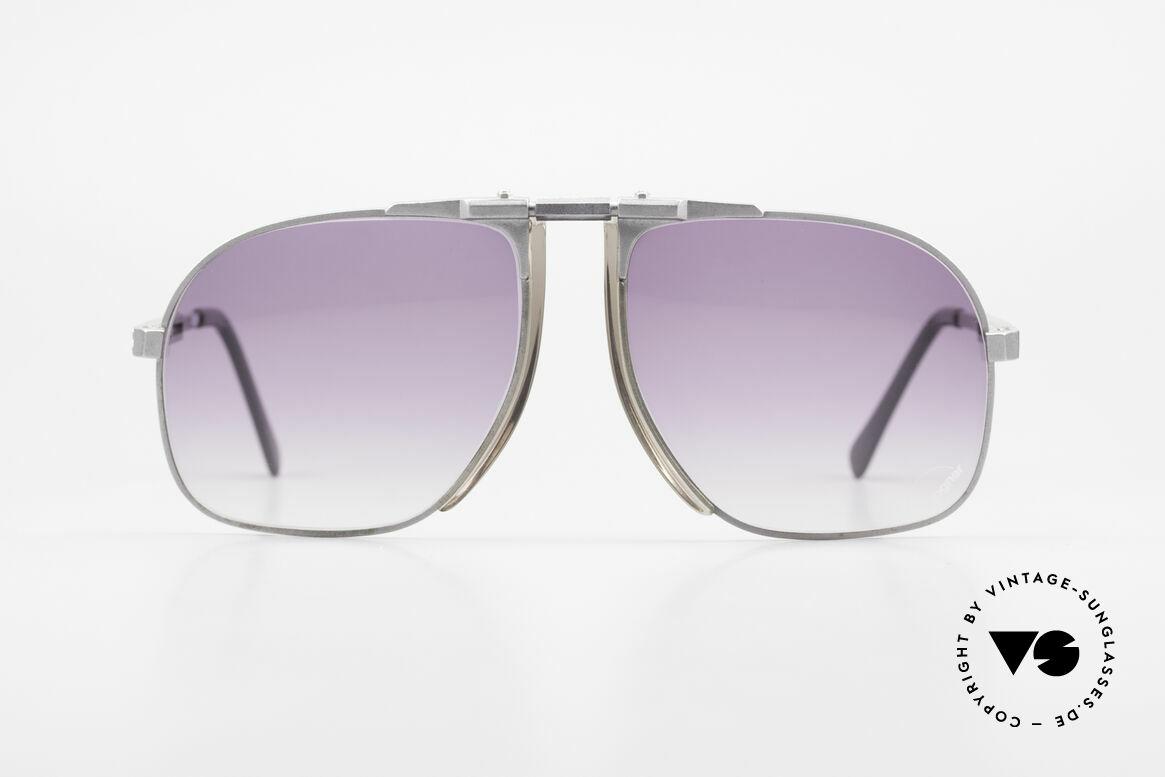 Willy Bogner 7023 Einstellbare Sonnenbrille 80er, stufenlos verstellbare Eschenbach-Bügel (1A Komfort), Passend für Herren