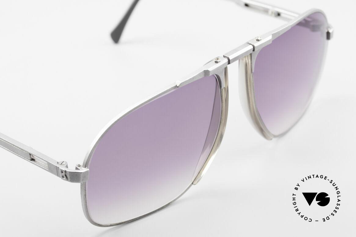 Willy Bogner 7023 Einstellbare Sonnenbrille 80er, ungetragen (wie alle unsere W. BOGNER Sonnenbrillen), Passend für Herren