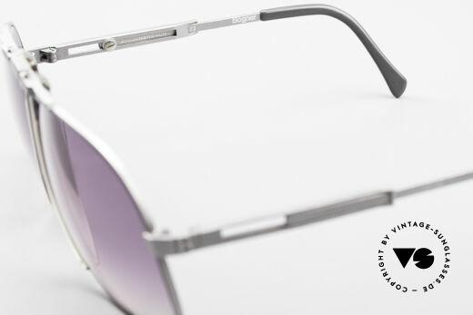 Willy Bogner 7023 Einstellbare Sonnenbrille 80er, Größe: large, Passend für Herren