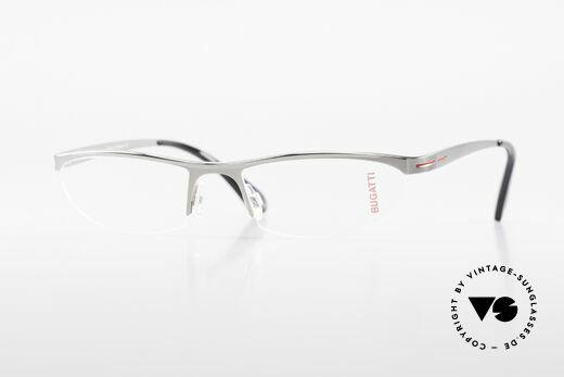 Bugatti 497 Ruthenium Luxus Brille Nylor Details