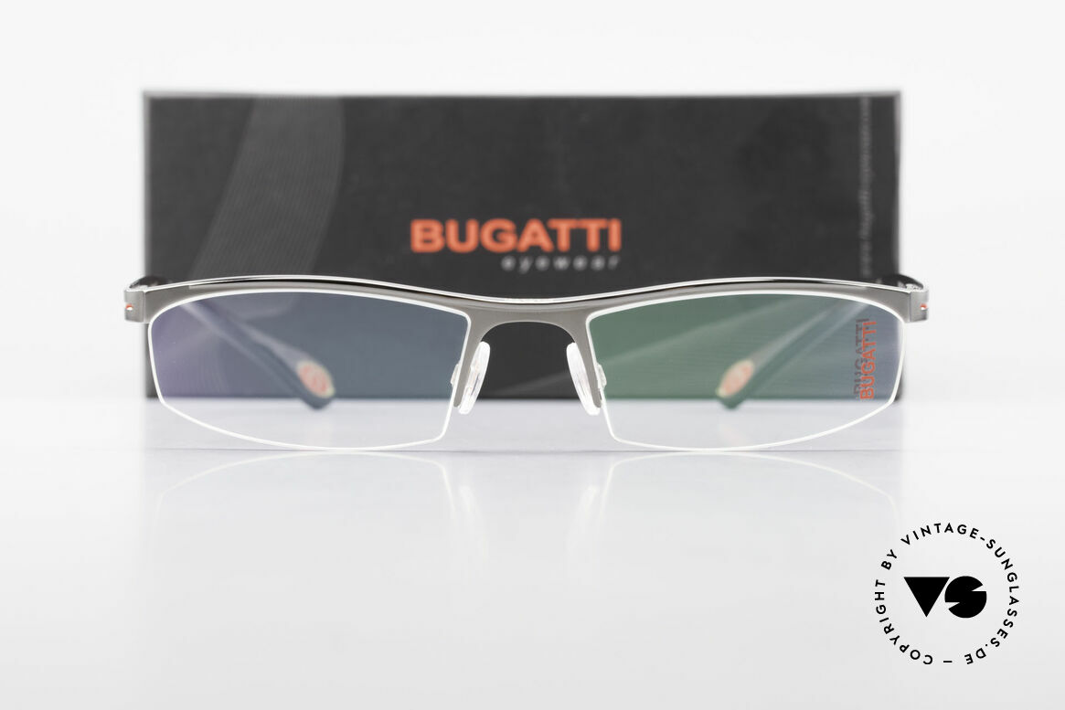 Bugatti 495 Ruthenium Nylor Brille Luxus