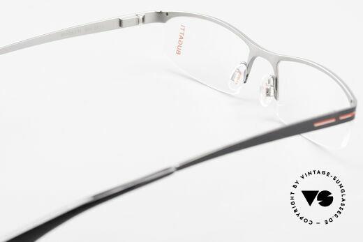 Bugatti 495 Luxus Nylor-Brille Gentlemen, NylorRahmen ist als (Sonnen)Brille verglasbar, Passend für Herren