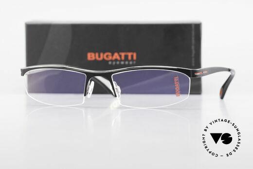 Bugatti 495 Luxus Nylor-Brille Gentlemen, Größe: large, Passend für Herren