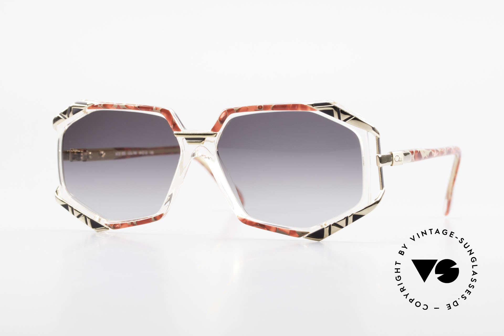 Cazal 355 Spektakuläre Sonnenbrille 90er, vintage Cazal Designerbrille aus den frühen 90ern, Passend für Damen