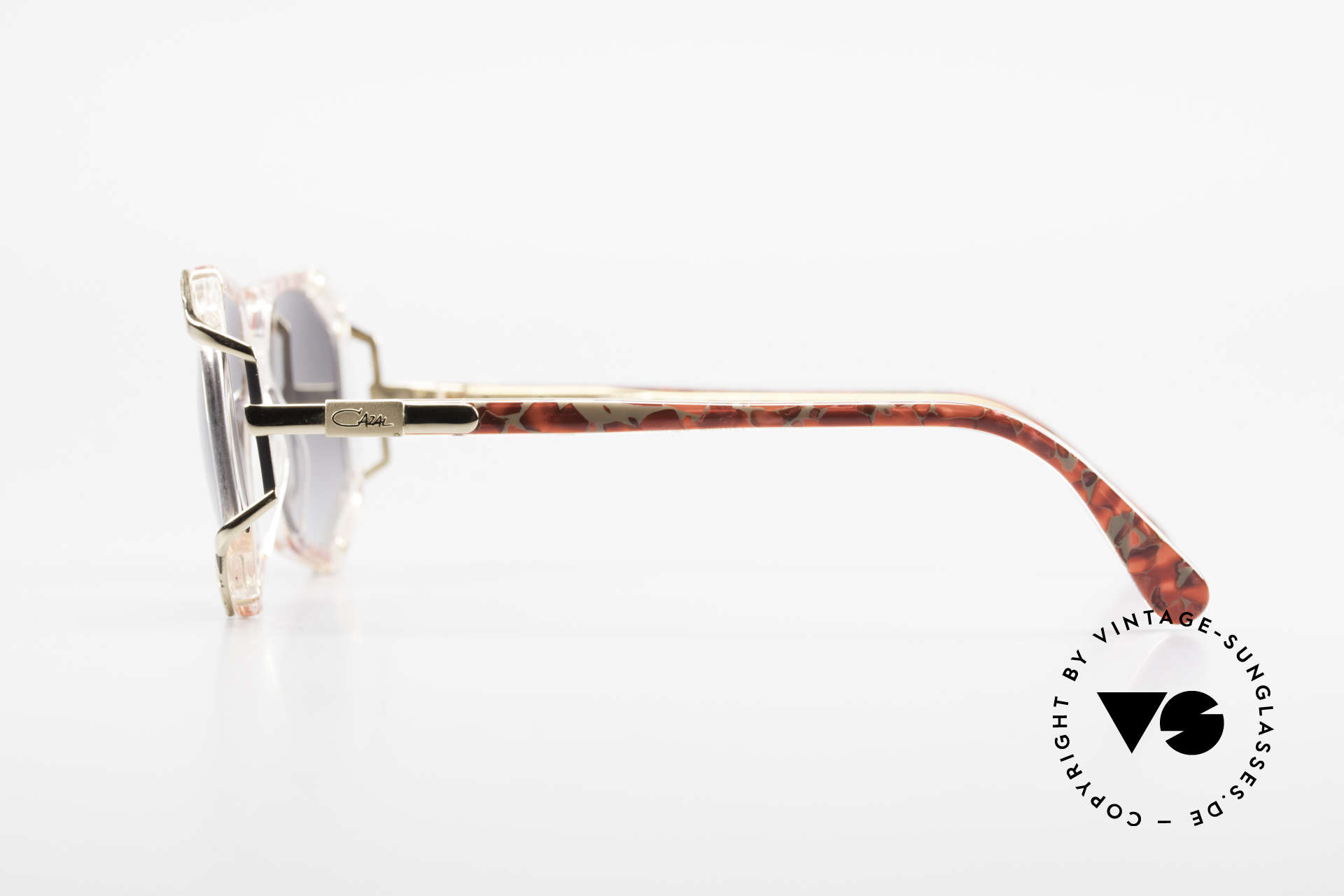 Cazal 355 Spektakuläre Sonnenbrille 90er, ungetragen (wie alle unsere CAZAL vintage Brillen), Passend für Damen