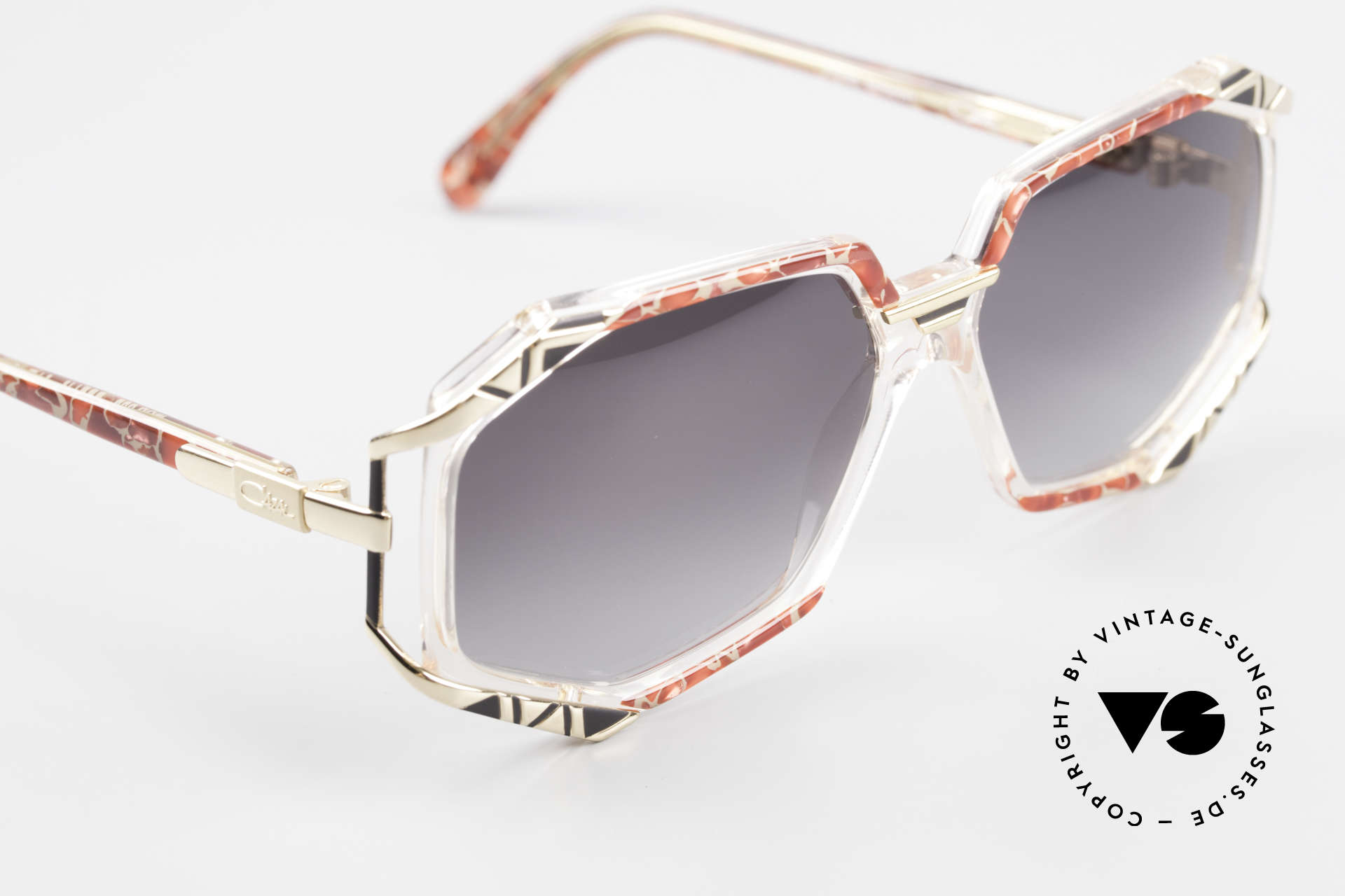 Cazal 355 Spektakuläre Sonnenbrille 90er, KEINE retro Brille, ein ca. 25 Jahre altes ORIGINAL!, Passend für Damen