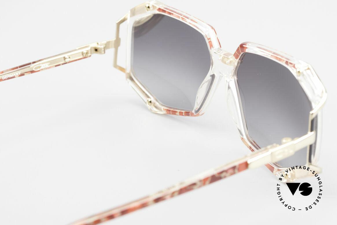 Cazal 355 Spektakuläre Sonnenbrille 90er, Rahmenbreite 120mm = für sehr kleine Köpfe; SMALL, Passend für Damen