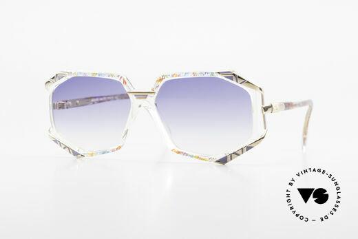 Cazal 355 Aussergewöhnliche Brille 90er Details